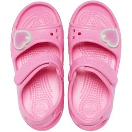 Sandale pentru copii Crocs Fun Lab Rainbow roz 206795 669 1