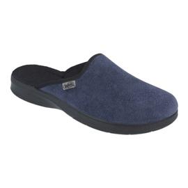 Befado bărbați pantofi pu 548M018 negru bleumarin 1