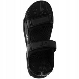 Sandale pentru băiat 4F negru profund HJL21 JSAM002 20S 1