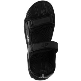 Sandale 4F Jr HJL21 JSAM002 20S negru 1