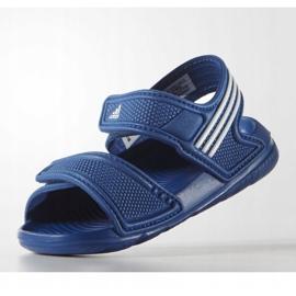 Sandale Adidas Akwah 9 Jr S74649 albastru 4