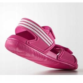 Sandale Adidas Akwah 9 Jr AF3871 albastru roz 1