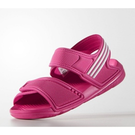 Sandale Adidas Akwah 9 Jr AF3871 albastru roz 2