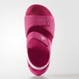 Sandale Adidas Akwah 9 Jr AF3871 albastru roz 3
