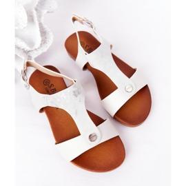 S.Barski Sandale pentru copii S. Barski Comfort Silver argint 3