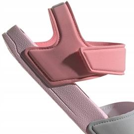 Sandale pentru copii adidas Adilette Sandal K gri-roz FY8849 6