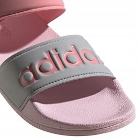Sandale pentru copii adidas Adilette Sandal K gri-roz FY8849 4