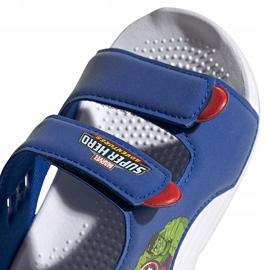Sandale pentru copii adidas Sandal de baie I albastru FY8958 4