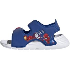 Sandale pentru copii adidas Sandal de baie I albastru FY8958 1