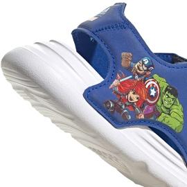 Sandale pentru copii adidas Sandal de baie I albastru FY8958 6