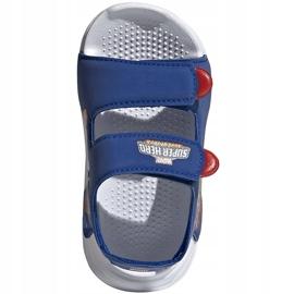 Sandale pentru copii adidas Sandal de baie I albastru FY8958 2