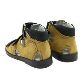Sandale profilactice înalte Mazurek 291 gri portocaliu galben 2