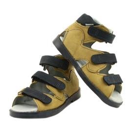 Sandale profilactice înalte Mazurek 291 gri portocaliu galben 3