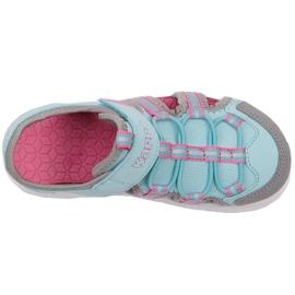 Pantofi pentru copii Kappa Kyoko albastru-gri 260884K 6316 roz 1