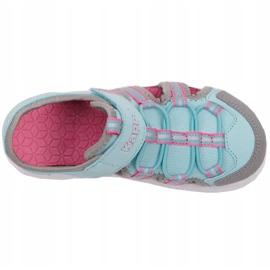 Pantofi Kappa Kyoko Jr 260884K 6316 albastru roz gri 1