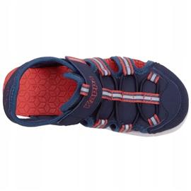 Pantofi Kappa Kyoko Jr 260884K 6744 albastru marin 1