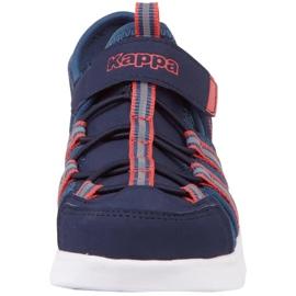 Pantofi Kappa Kyoko Jr 260884K 6744 albastru marin 3