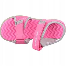 Sandale New Balance Sandal K K2004GRP roz gri 2