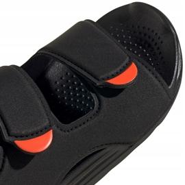 Sandale copii Adidas Swim Sandal C negru FY8936 4