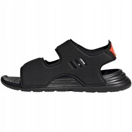 Sandale copii Adidas Swim Sandal C negru FY8936 2