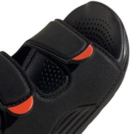 Sandale pentru copii Adidas Sandal de înot negru FY8064 4