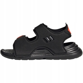 Sandale pentru copii Adidas Sandal de înot negru FY8064 1