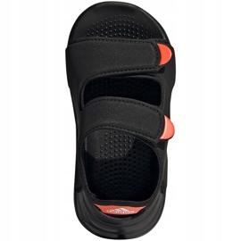 Sandale pentru copii Adidas Sandal de înot negru FY8064 2