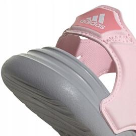 Sandale pentru copii adidas Sandal de baie I roz FY8065 4