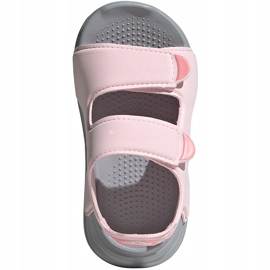 Sandale pentru copii adidas Sandal de baie I roz FY8065 1