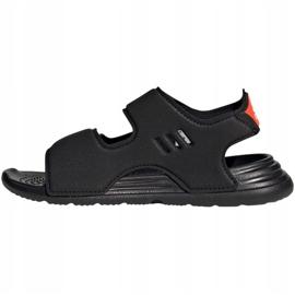 Sandale Adidas Jr FY8936 negru 2