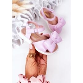 FR1 Sandale pentru copii cu arc Violet Abbie 2