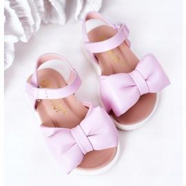 FR1 Sandale pentru copii cu arc Violet Abbie 3