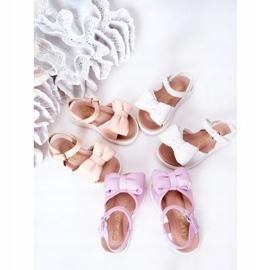 FR1 Sandale pentru copii cu arc Violet Abbie 4