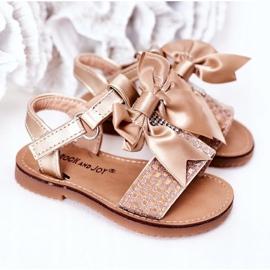 FR1 Sandale pentru copii cu arc Beebee de aur 4