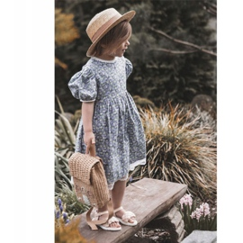 FR1 Sandale pentru copii cu Adella roz împletit 14