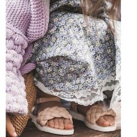 FR1 Sandale pentru copii cu Adella roz împletit 12