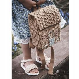 FR1 Sandale pentru copii cu Adella roz împletit 13
