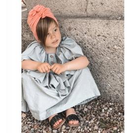 FR1 Sandale pentru copii cu Bailly negru împletit 9