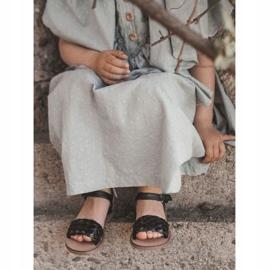 FR1 Sandale pentru copii cu Bailly negru împletit 2