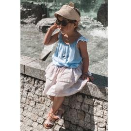 FR1 Sandale pentru copii cu arc Bow Beebee roz 7