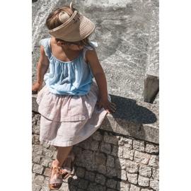FR1 Sandale pentru copii cu arc Bow Beebee roz 9