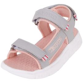 Sandale pentru copii Kappa Kana gri-roz 260886K 1421 3