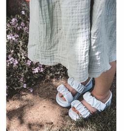 FR1 Sandale pentru copii cu dulceață albastră cu nervuri albastru 6