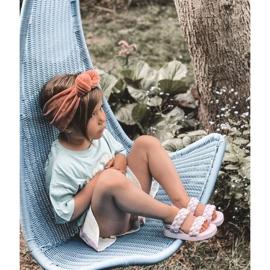 FR1 Sandale pentru copii cu cutie-plăcintă violet cu nervuri 9