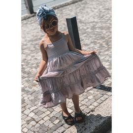FR1 Sandale pentru copii cu manșetă Bubble Gum Negru 6