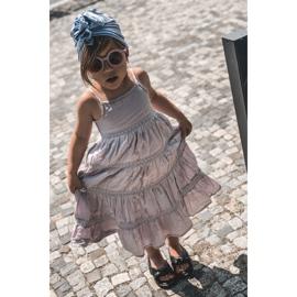FR1 Sandale pentru copii cu manșetă Bubble Gum Negru 8