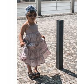 FR1 Sandale pentru copii cu manșetă Bubble Gum Negru 7