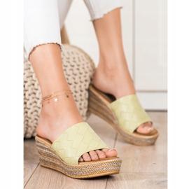 Bona Flip Flops verde 1