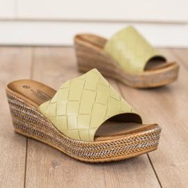 Bona Flip Flops verde 2
