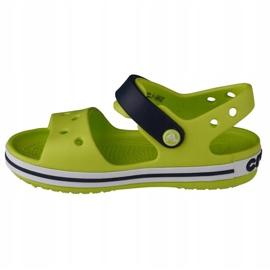 Sandale Crocs Crocband pentru copii 12856-3TX verde 1